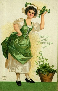 Vintage St. Patrick's Day Postcards (4)
