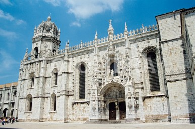Monastery of the Hieronymites and Tower of Belém, Lisbon.