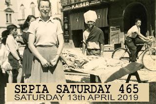 Market Place, Locarno, Italy 1947 (Third Party Album)