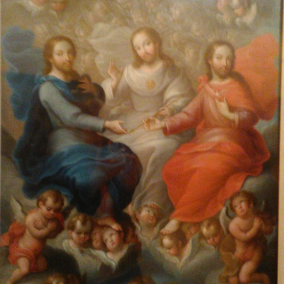 The Trinity Interesting how the Father, Son & Holy Spirit look like triplets