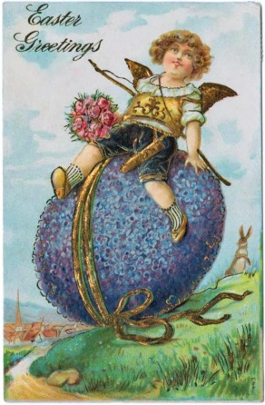 Vintage Easter card (1)