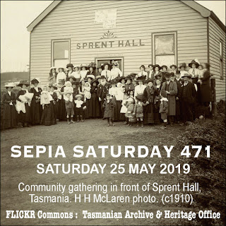 Sepia Saturday Theme Image 47 : 25 May 2019