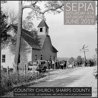 Country Curch, Sharp County - Sepia Saturday 474