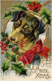 Vintage-Christmas-Dog-Freebie-GraphicsFairy