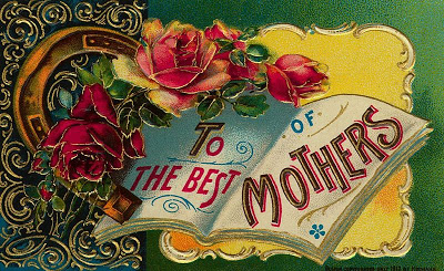 mothers day vintage card