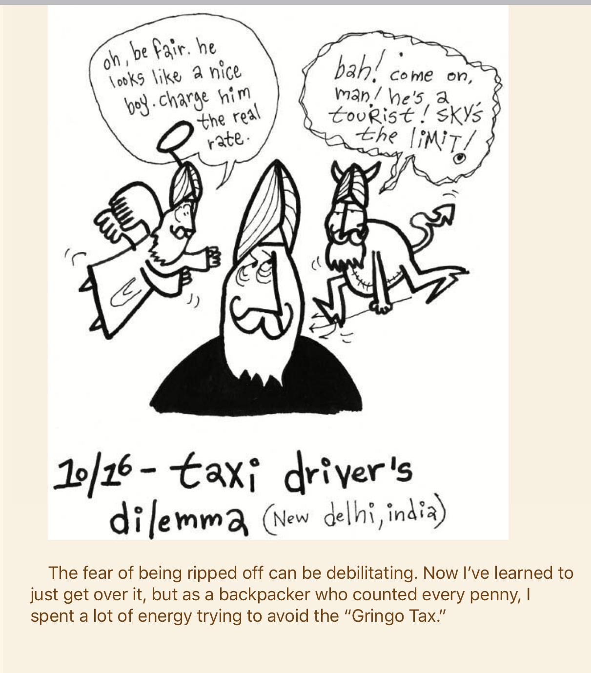 taxi dilemma
