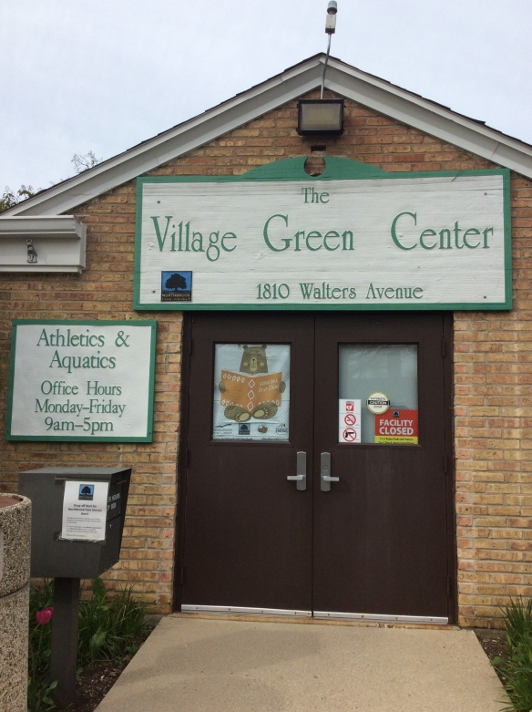 village green door