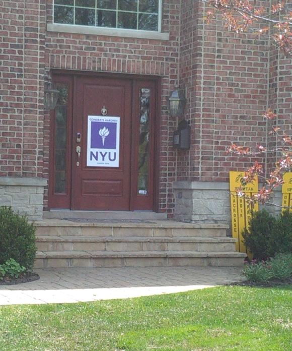 Going to NYU