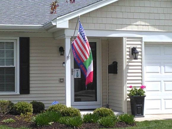 Italian-American Flag