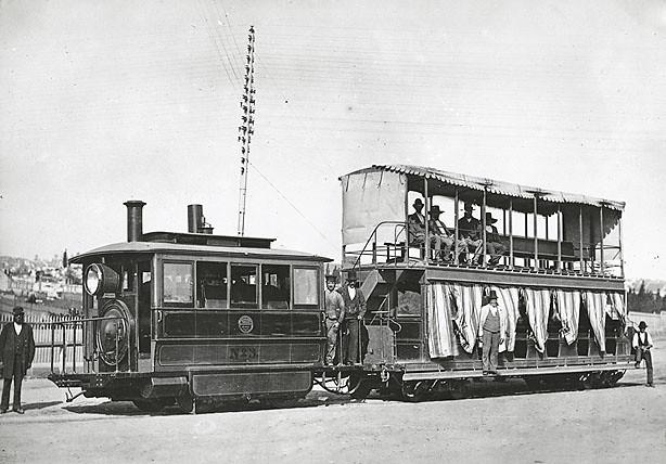 NSW archives steam tram 1879