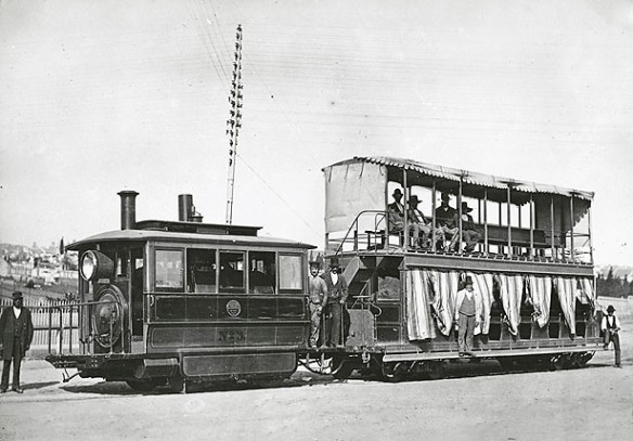 NSW archives steam tram 1879