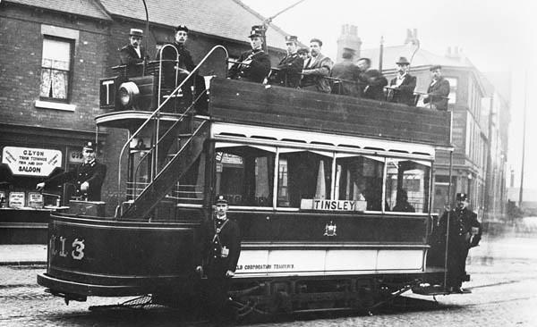 sheffield tram z